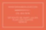 Graphisme - Sarah Bonjour - Carte de visite arc en ciel, couleurs, sur fond rouge