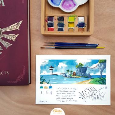 L'île de l'aurore - The Legend of Zelda : The Wind Waker