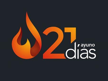 21 Dias de Ayuno y Oración