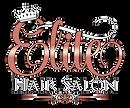 Elite Hair Salon logo on transparent bac