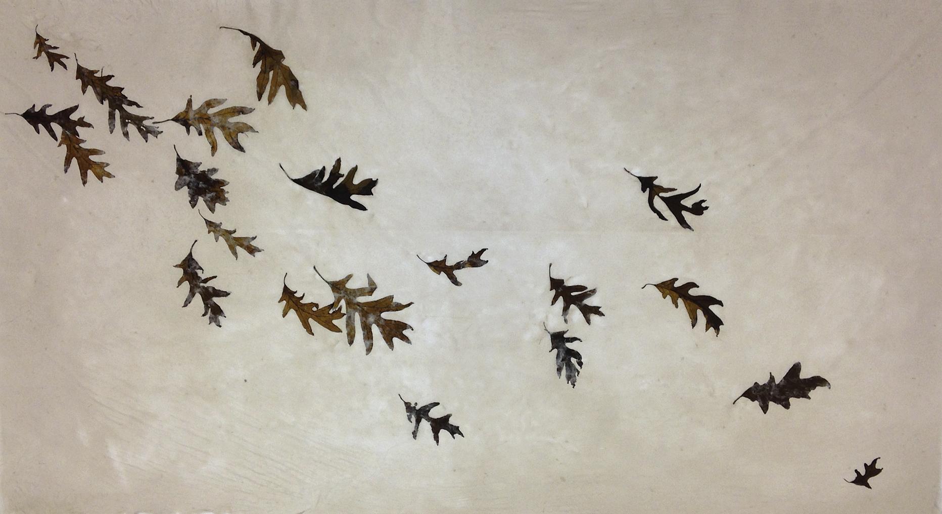 Autumn Moment-3 Leaf Relic Series