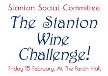Stanton Wine Tasting Challenge - 15 Feb