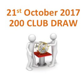 200 Club - First Draw - October