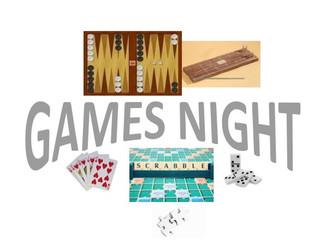 Games Night - Feb 1st