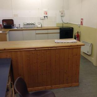 SSQ parish hall pre-2016 kitchen