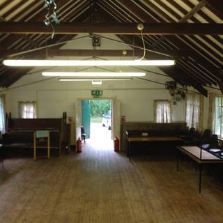 SSQ Parish Hall pre-refurbishment