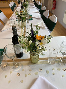 Table decoration - wedding