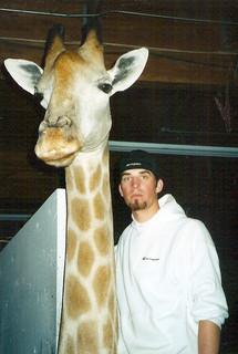 Giraffe mount