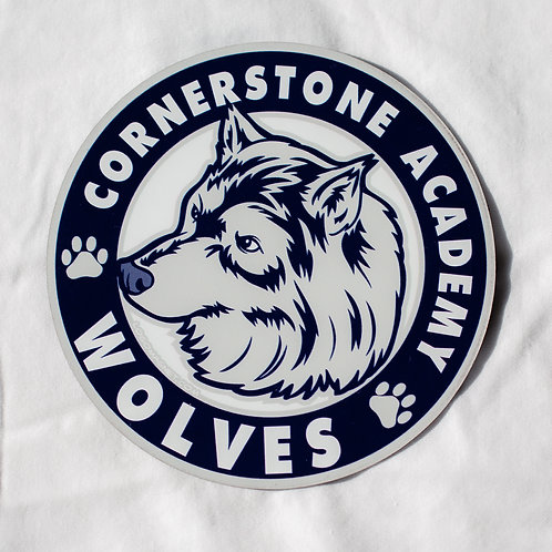 Cornerstone Academy Large Car Magnet