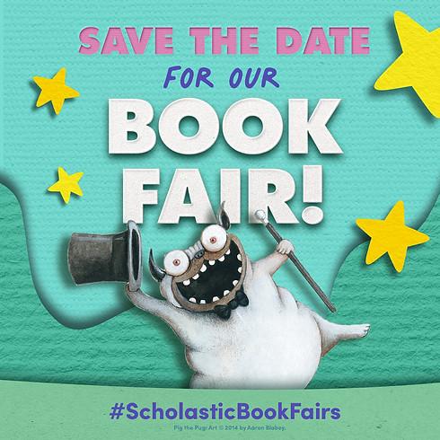 Scholastic Book Fair Fall 2021
