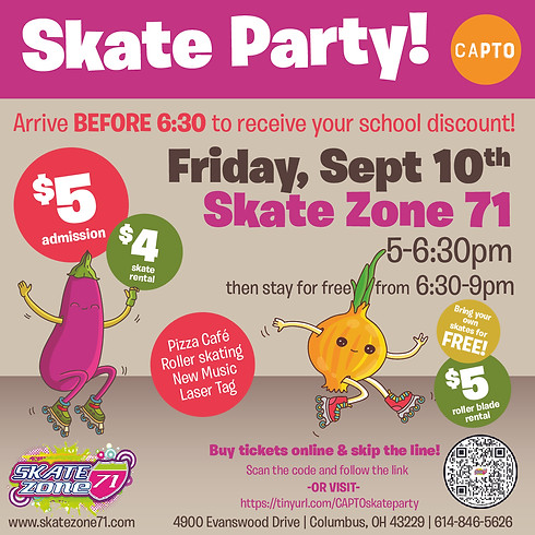 Skate Zone 71 Skate Party!