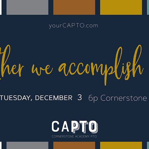 CAPTO December Meeting