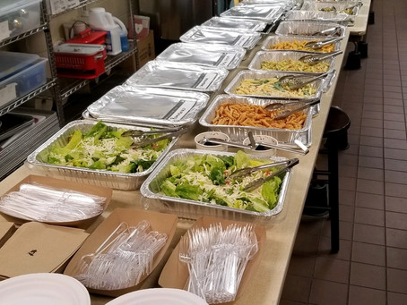 Lunch for our Teachers!