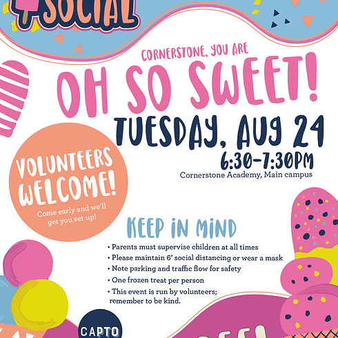 Ice Cream Social (Rain Date)