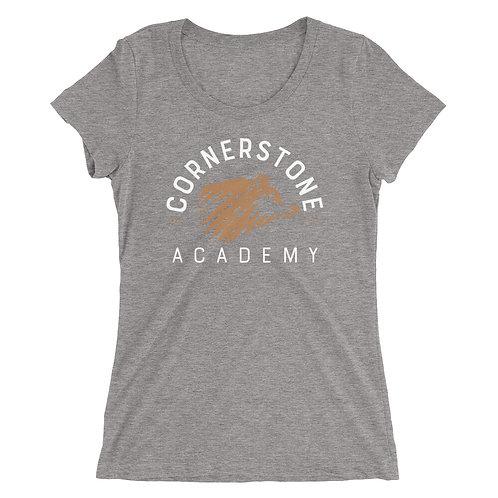 Cornerstone Academy Womens fit Tri-Blend