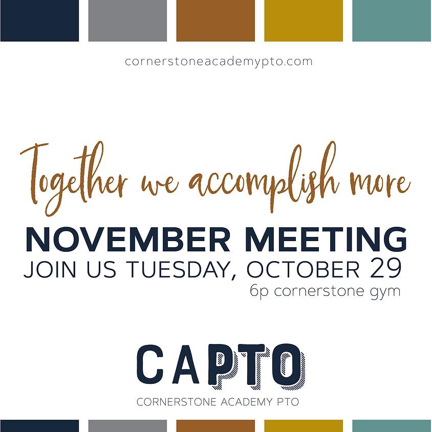 November CAPTO Meeting