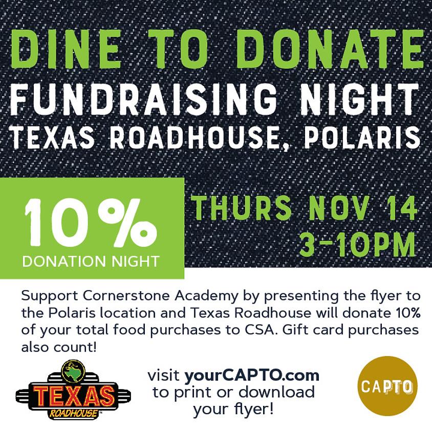 Texas Roadhouse Dine-in November