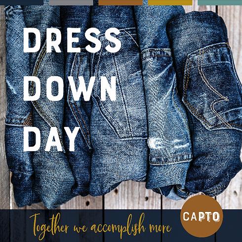 Dress Down Day!