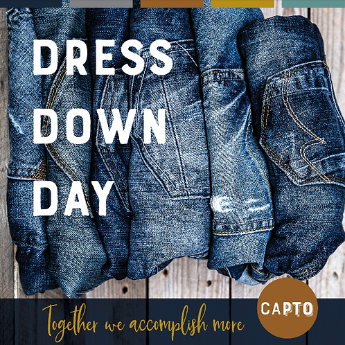 Pay Ahead Dress Down Day