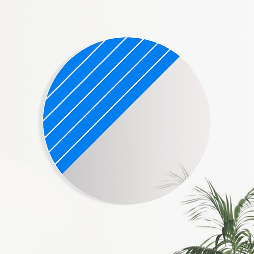 MONO | GRAPHIC Klein Blue & White Stripes