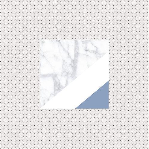 XS Carrara marble & Serenity
