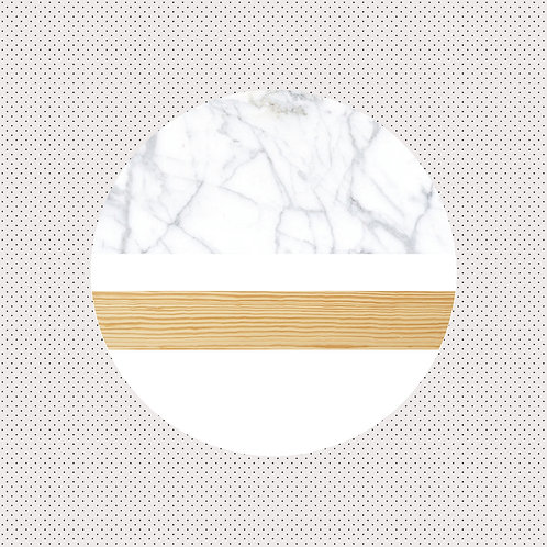 XO | Carrara Marble & Pine Wood