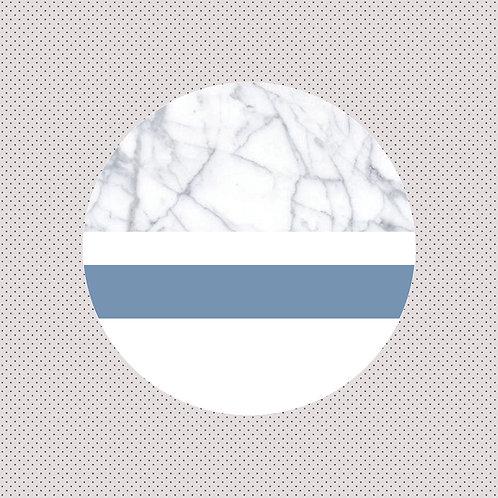 XO | Carrara Marble & Serenity