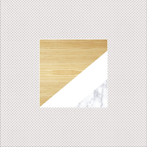 XS | Pine wood & Carrara Marble