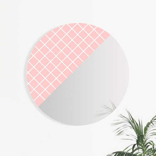 MONO | GRAPHIC Rose&White Grid