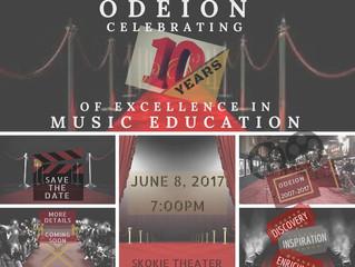 Odeion Celebrates 10 Years!!!