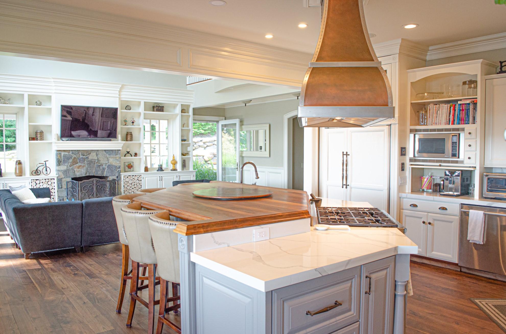 Hudson View View Kitchen