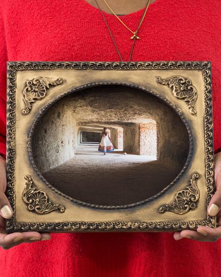 Reminiscences Series, Castillo de la Roca # 2,Cécilia Bracmort (photo: alignements)