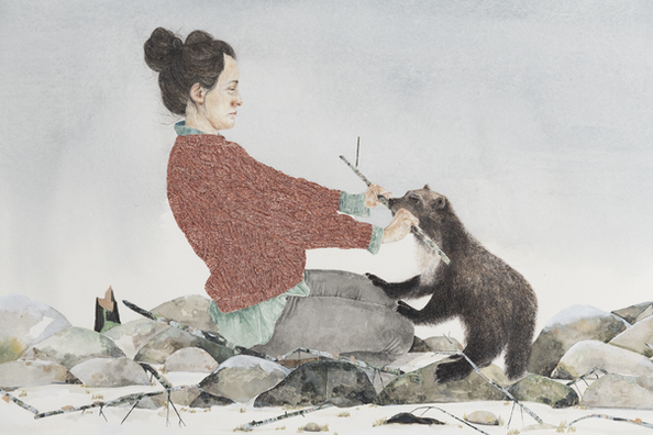 An Oath (detail), Kristin Bjornerud