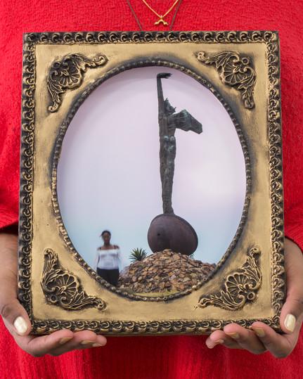 Reminiscences Series, Monument to Cimarron by Alberto Lescay #1,Cécilia Bracmort (photo: alignements)
