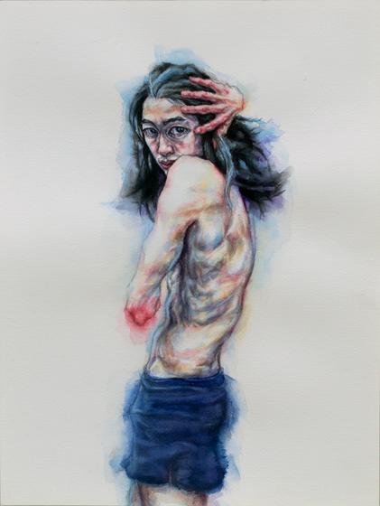Bones for Egon (detail), Tammy Salzl