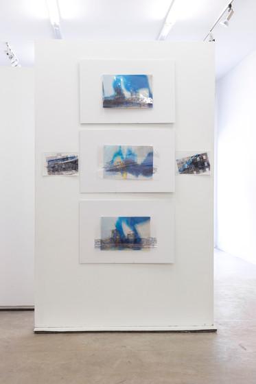Prison-dentèlle (I, II, III), Intime dévoilement, L'ombre du vent, Maryam Izadifard (photo: alignements)