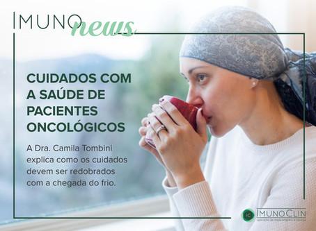 Cuidados com a saúde de pacientes oncológicos
