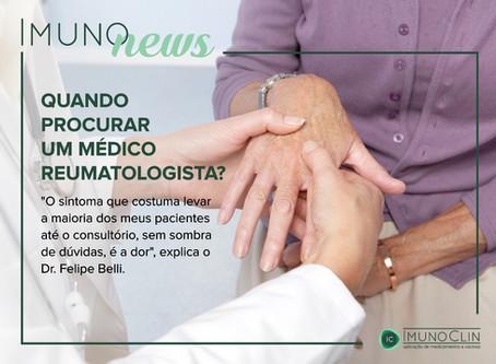 Quando procurar um reumatologista? Entenda mais sobre esta especialidade médica