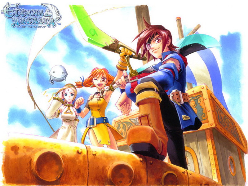 Skies of Arcadia.