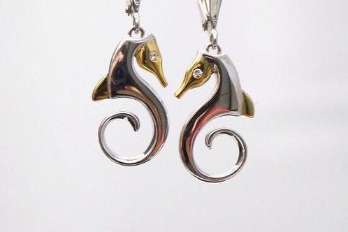 SEAHORSE EARINGS