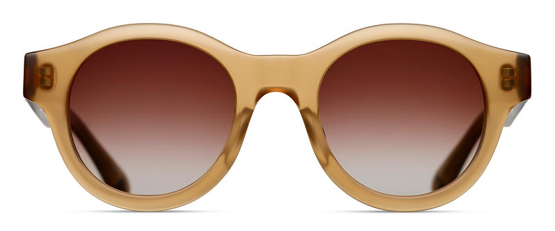Bold Semi-Round Sunglasses