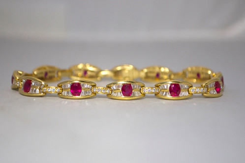 diamond gold white gross bracelet jewelers ruby h l garden
