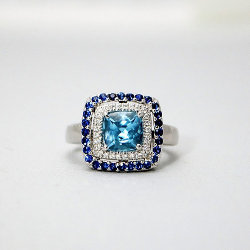 LEVIAN BLUE TOPAZ RING