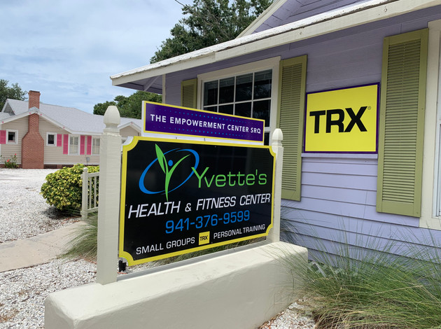 Yvette's Health and Fitness Center in the charming Downtown Village on Fruitville Road