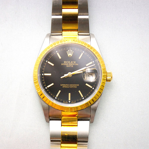 GENTS ROLEX 18K & STAINLESS