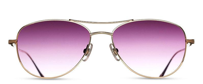Modified Titanium Aviator Sunglasses