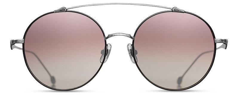 Engraved Titanium Sunglasses with Brow
