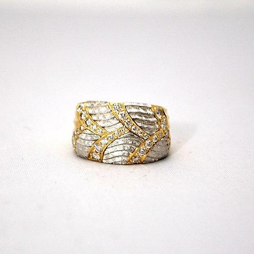 MICHAEL BONDANZA DIAMOND RING