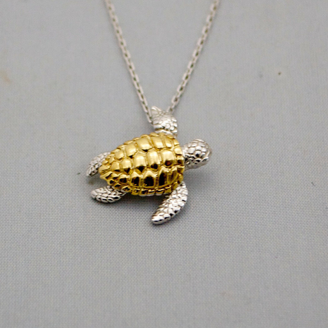 Jewelry store in sarasota united zemil jewelers sea turtle sea turtle pendant with chain aloadofball Image collections