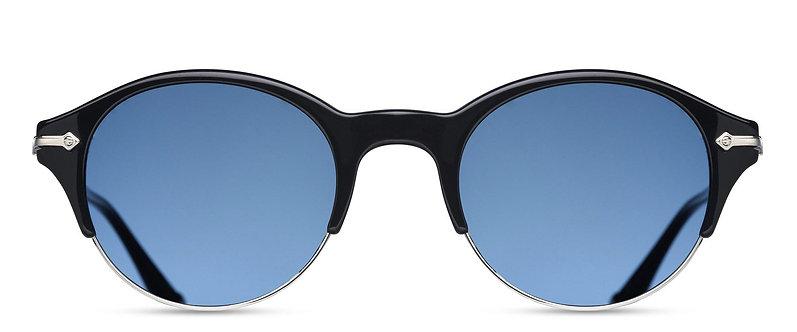 Classic Round Titanium Sunglasses